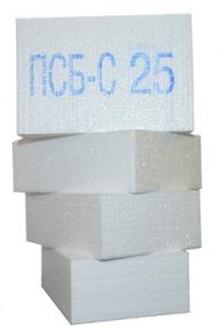 ППС14-Р-А (до 01.07.2015г. ПСБ-С 25 Ф) 2000х1000х100мм 0,2м3 в листе